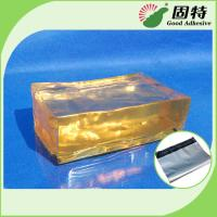 Buy cheap Strong Packaging Hot Melt Adhesive Tape Semi Transparent Yellow and semi-transparent block product