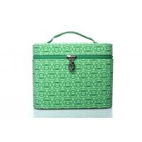 Buy cheap factory price female pu leather square plaid cosmetic bags product