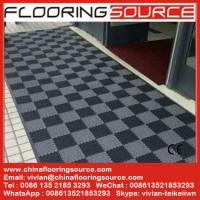 Buy cheap Interlocking tile PVC floor mat for entrance area from Wholesalers