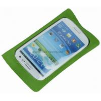 Buy cheap TPU coated 210D Fabric Waterproof Phone Pouches, Waterproof Phone Bags with Clear Window product