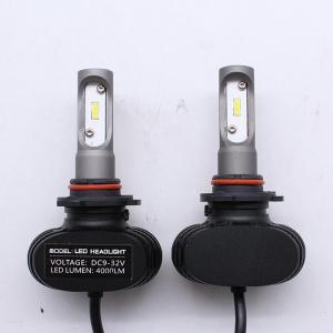 China S1 9005 6500k 50W LED Car Headlight Bulbs Fanless Auto Styling 8000lm LED Fog Lamp for Audi BMW Toyota Nissan Honda on sale