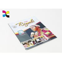 Buy cheap Softcover With Perfect Binding Custom Magazine Printing With Varnishing Inside Pages product