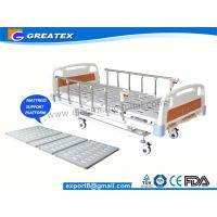 CE FDA ISO Three Function Full Electric luxury Hospital Bed ABS , Aluminum Alloy