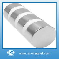 China Natural material custom big size NdFeB magnet on sale