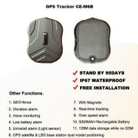 Buy cheap Magnetic GPS Tracker Portable 95 Days Long Standby Time 5000MAH Rechargeable Battery from wholesalers