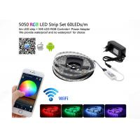 Buy cheap WiFi Control Smd 5050 Rgb Led Strip Light Home Neon Light With Mini RGB Controller product
