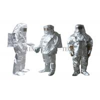 Buy cheap High Temperature Aluminized Fire Proximity Protective Clothing Suit Thermal Insulation product