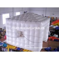 Buy cheap Durable Attractive Inflatable Air Tent / Inflatable Cube Marquee With LED Light Inside from Wholesalers