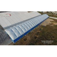 Buy cheap Thermo Roof Polygon Steel Industrial Storage Tents With Sandwich Hard Wall from Wholesalers