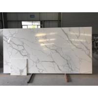Buy cheap Custom Cut Hard Surface Kitchen Countertops With Vein , Stone Kitchen Worktops product