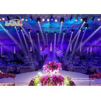 Buy cheap Aluminum Big Outdoor Tents For Wedding Receptions , 500 People Wedding Canopy Tent product