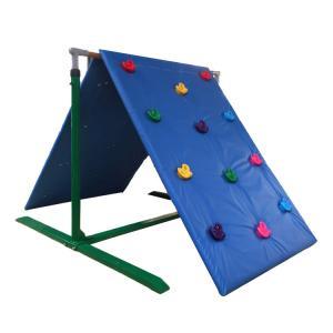 Buy cheap Customized Color Kids Backyard Climbing Wall , Plastic Childrens Rock Climbing Wall product