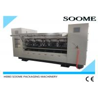 Buy cheap Corrugated Paper Slitter Scorer Making Machine Within 1 To 3 Seconds product