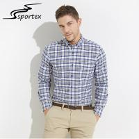 Buy cheap New Arrival Business Dress Shirts , Plaid Flannel Formal Shirts For Men product