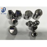 Buy cheap 100% Virgin Tungsten Carbide Teeth With Flat /  Wedge / Spherical Top Head product