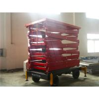 Buy cheap 300kg Small electric hydraulic lift , self propelled scissor lift aerial work platform for 6-12m product