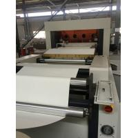 Buy cheap Easy Operate Paper Cup Die Cutting Machine With Shaftless / Straight League Transmission product