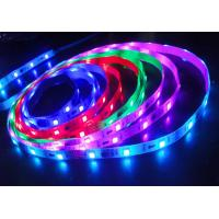 Buy cheap 5050 IC RGB 5 Meter Flexible LED Strip Light Color Changing in IP20 For Cars product