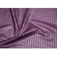 Buy cheap Purple Suede Printed Leather Fabric , Ladies Garment Premium PU Leather product
