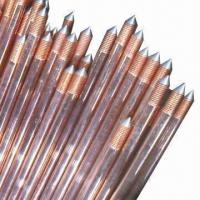 China Ground Rods with 0.254mm Copper Thickness on sale