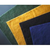 Professional Woven Technics Melton Wool Fabric For Applique 413 G/M2