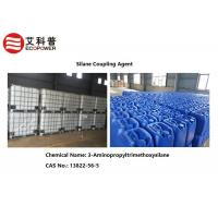 Buy cheap Strengthen Adhesion 3 Aminopropyltrimethoxysilane 13822-56-5 Amino Silane Coupling Agent For Resin Sand Casting product
