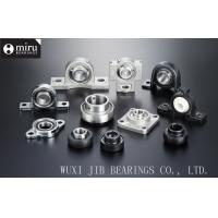 Buy cheap Miniature Cast Iron / Plastic Mounted Ball Bearings , Pillow Block Ball Bearing Unit product