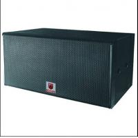 Buy cheap dual 18'' pro sub 1600W RMS subbass professional audio subwoofer power suond audio speaker box product