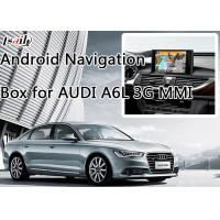 Buy cheap Car Android Navigation Box for AUDI A6L 3G MMI with WIFI BT Mirror Link HD 1080P from Wholesalers