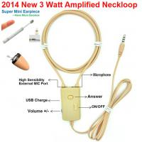 China 2019 NEW 3 Watt Amplified Inductive Neckloop can work with Magnetic Micro earpiece on sale