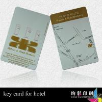 Buy cheap Offset CMYK Contactless Blank PVC Business Cards With Rounded Corners product