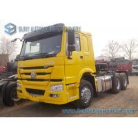Buy cheap 6x4 Prime Mover 371 HP Sinotruk HOWO Tractor Truck 6x4 Trailer Truck from wholesalers
