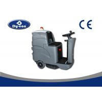 Buy cheap Custom Hard Floor Scrubber Machine Ground Cleaning Battery Powered 24V Voltage from wholesalers