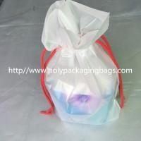 Buy cheap Transparent PVC Vinyl Small Drawstring Pouch Bags Women'S Makeup Pouch from wholesalers