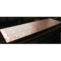 Buy cheap Wear Resistance Copper Mould Plate For Continuous Casting Machine , ISO Certification product