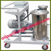 Buy cheap Small Oil Filter Machine, Portable Oil Purifier, Mini Oil Filtration,remove impurity,particulates,sediments waste oil product
