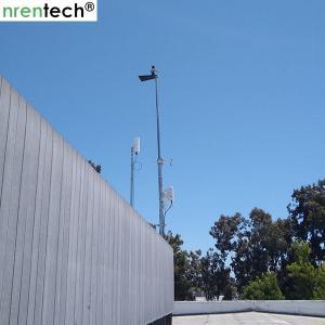 Buy cheap 10m crank telescopic mast- galvanized telescopic mast, steel telescopic mast 50kg payloads product
