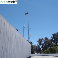 Buy cheap 10m crank telescopic mast- galvanized telescopic mast, steel telescopic mast 50kg payloads product
