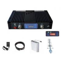 Buy cheap GSM Mobile Signal Booster 20dBm power 70dB Gain 1000 Coverage including accessories product