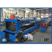 Buy cheap Customizable Hydraulic Cutting Highway Guardrail Roll Forming Machine product
