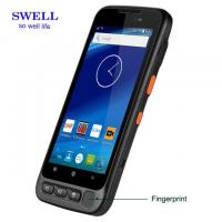 Buy cheap Handheld Terminal 5 Inch Industrial Smartphone With Fingerprint 2D Scanner And Docking Station from wholesalers