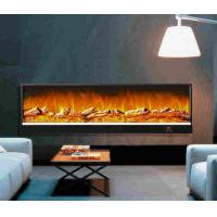 Restaurant decor wall fireplace heater with remote fake