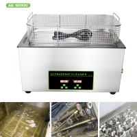 Buy cheap Heated Industrial Pump Digital Ultrasonic Cleaning Machine Automatic 30l Tank product