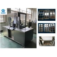 2.8kw Power Cosmetic Powder Press Machine With 6 / 8 Cavities Pressed Mold