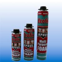 pu (polyurethane) foam adhesive/sealant tube/gun type manufacturer/factory 750ml/500ml