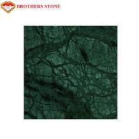 Buy cheap High Durability Marble Stone Tile , India Big Flower Green Marble Stone Basin Sink product