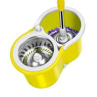 Buy cheap Microfiber Magic Mop with Bucket 2 Heads Rotating 360Easy Floor Mop product