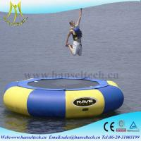 Quality Hansel top sale inflatable boat outdoor amusement equipment for sale