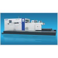China Semi  die cutting and creasing machine on sale
