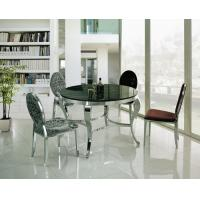 Buy cheap Contemporary Round Dining Table with Chairs Factory Wholesale product